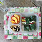 Collard Green Mock Sushi Rolls Meal-To-Go