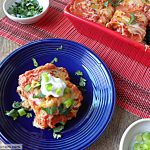 Healthier Mexican Taco Lasagna
