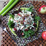 Healthier Mayo Free Waldorf Salad: Vegetarian & Gluten Free
