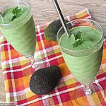 Naturally Sweetened Green Protein Smoothie