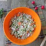 Toasted Millet Salad: Gluten Free
