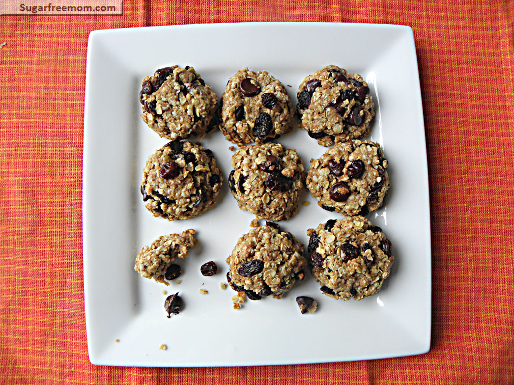 Healthy Oatmeal Raisin Cookies No Sugar Added