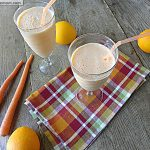 Orange Protein Smoothie: No Sugar Added