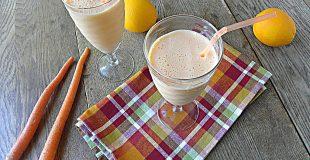 Orange Protein Smoothie: No Sugar Added