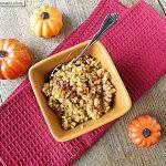 Pumpkin Vanilla Millet Porridge: Dairy & Gluten Free
