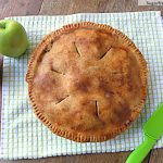Healthier Whole Wheat Apple Pie: No Sugar Added