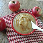 Crock Pot Applesauce: No Sugar Added