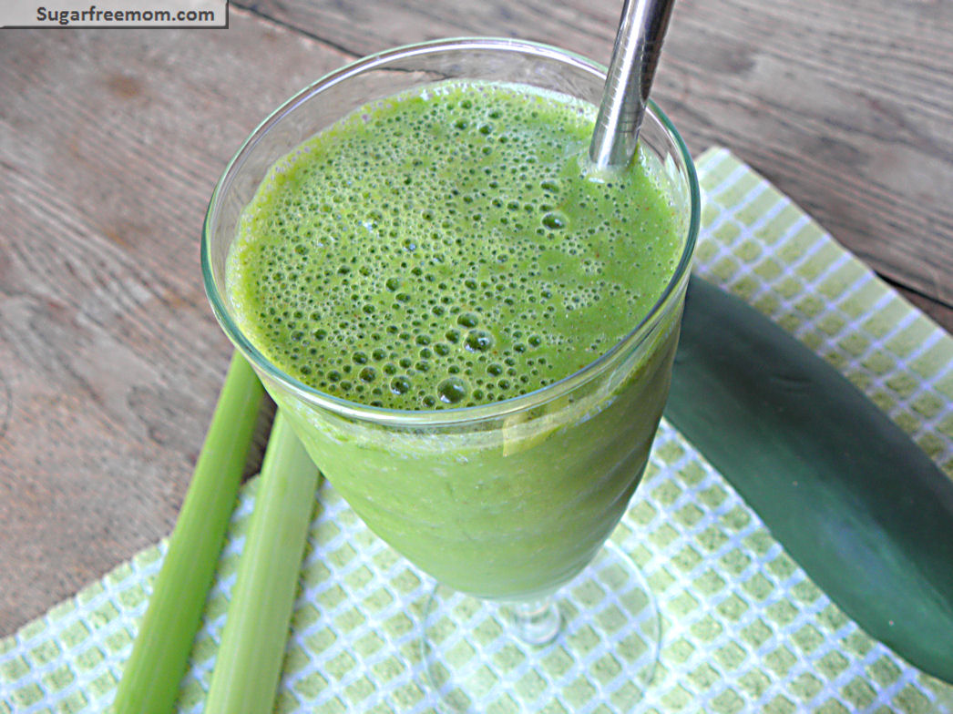 Cleanse & Detox Smoothie: Dairy, Sugar
