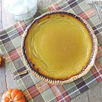 Healthier Pumpkin Pie: Low Calorie & Low Sugar