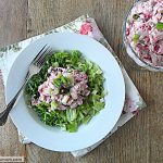 Low Carb Cranberry Turkey Salad