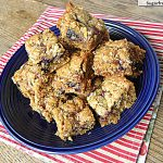 Whole Wheat Berry Crumb Bars