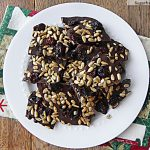 Three Ingredient Chocolate Bark: [Nut, Soy & Dairy Free]