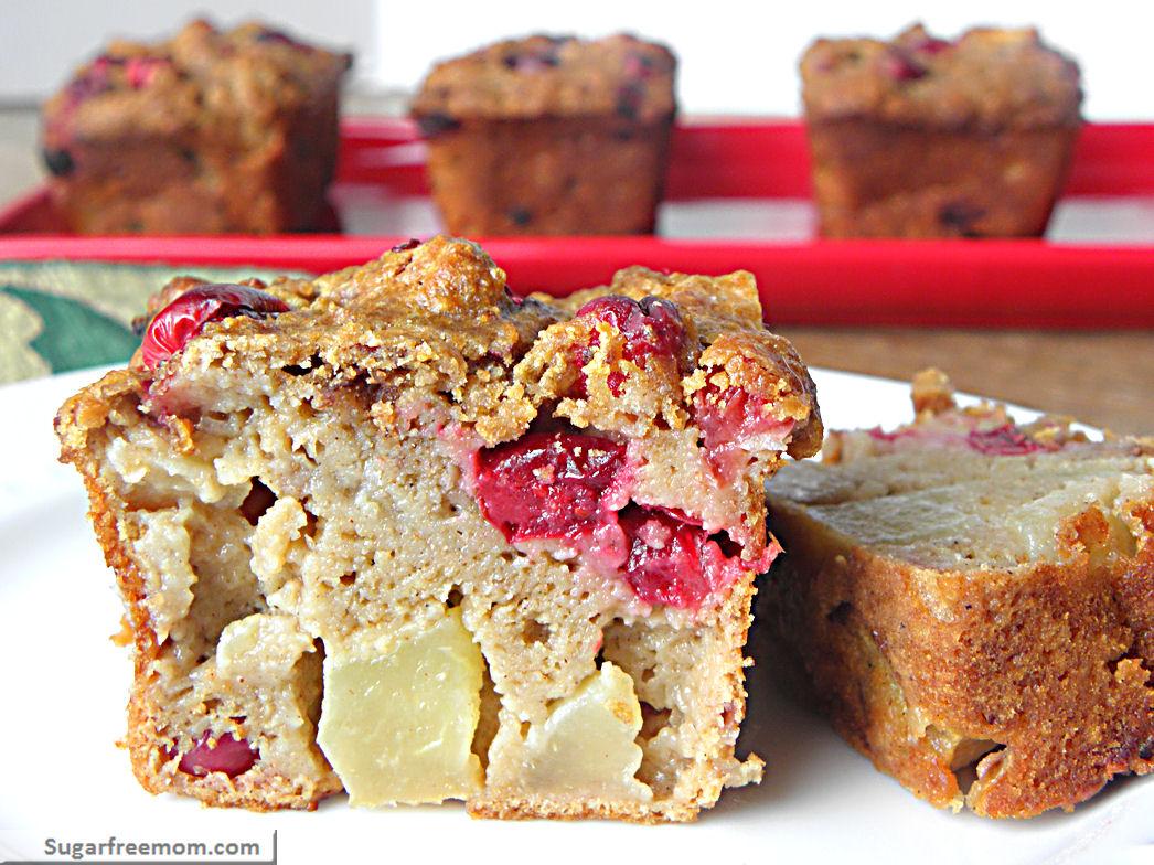 Petite Cranberry Apple Breads Low Sugar Amp Diabetic Friendly