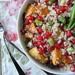 Pomegranate Sweet Potato Quinoa: [Gluten Free]