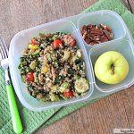 Veggie Quinoa Salad Meal-To-Go: Vegetarian, Dairy Free & Gluten Free