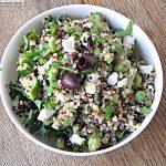 Meatless Monday: Greek Style Tri-Color Quinoa Salad