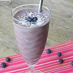 Blueberry Coconut Hidden Green Smoothie [Dairy, Sugar & Gluten Free]