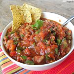 Homemade Chunky or Restaurant Style Salsa