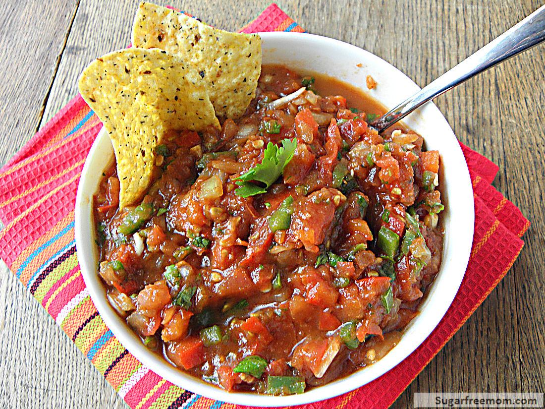 how to make tostitos chunky salsa