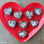 Homemade Valentine Coconut Filled Candy [Dairy, Nut, Sugar, & Gluten Free]