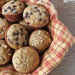 Gluten Free Low Fat Banana Bread Muffins [No Sugar Added]
