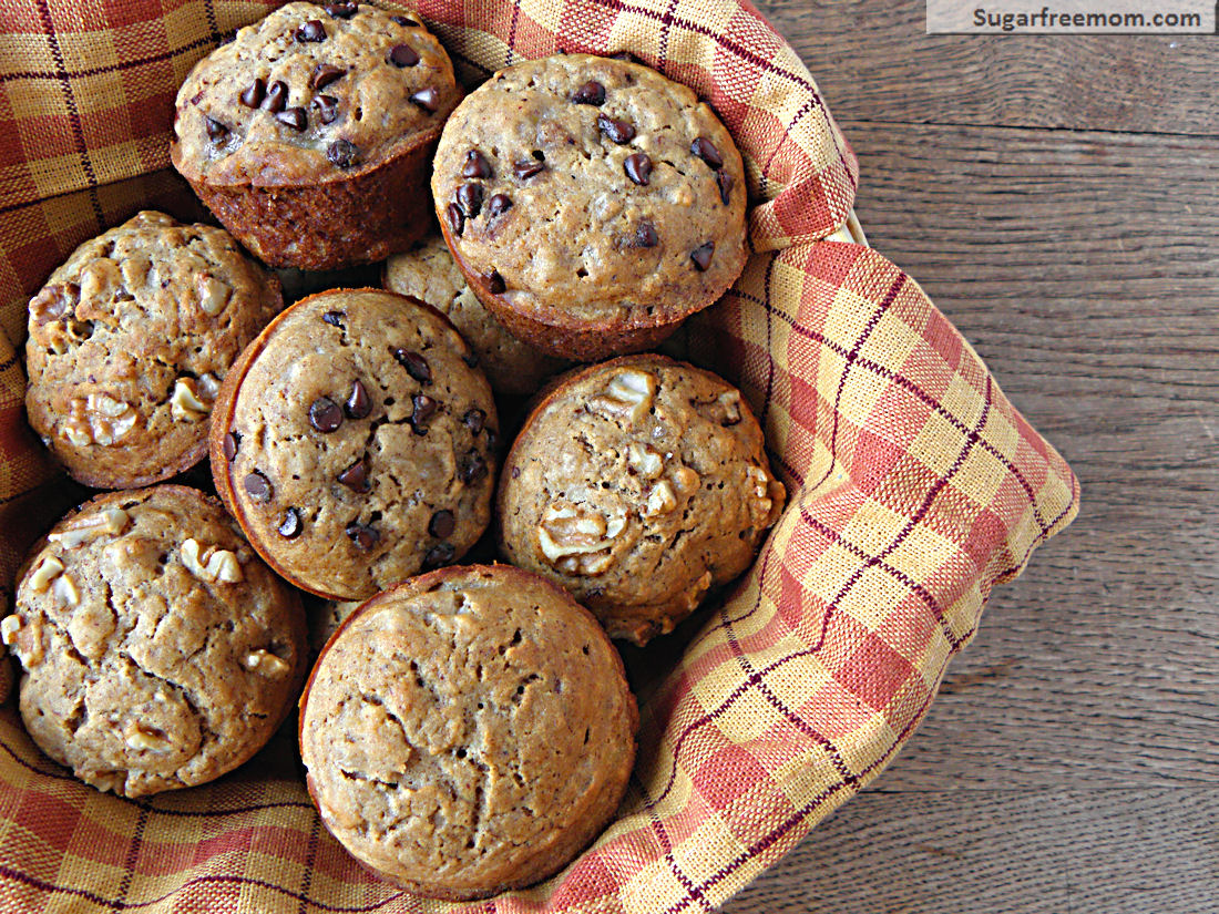 Low fat no sugar muffins recipes