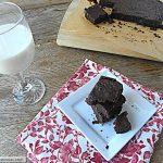 Fudgey Flourless Chocolate Brownies [Gluten, Dairy & Sugar Free]