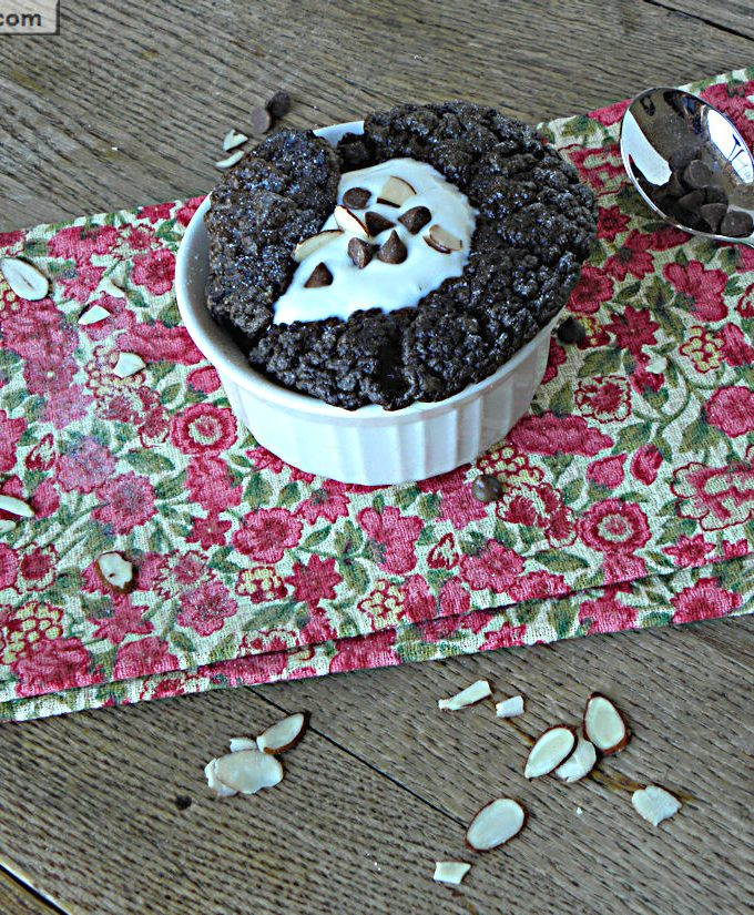 Individual Chocolate Souffle: [Diabetic Friendly, Gluten & Dairy Free]
