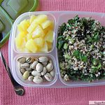 Greek Quinoa Salad Meal -To- Go: [Gluten Free]