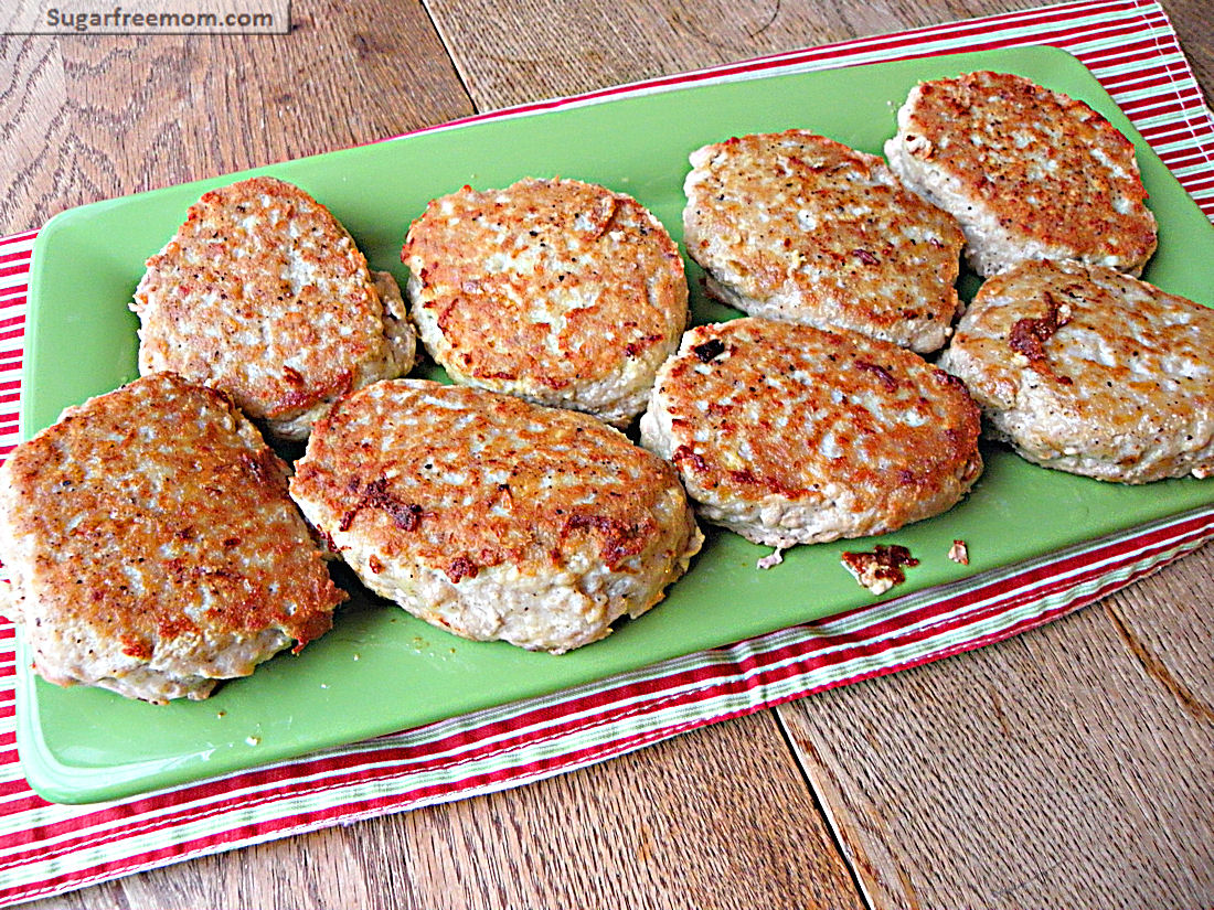 Chicken Burgers {Grain & Gluten Free}