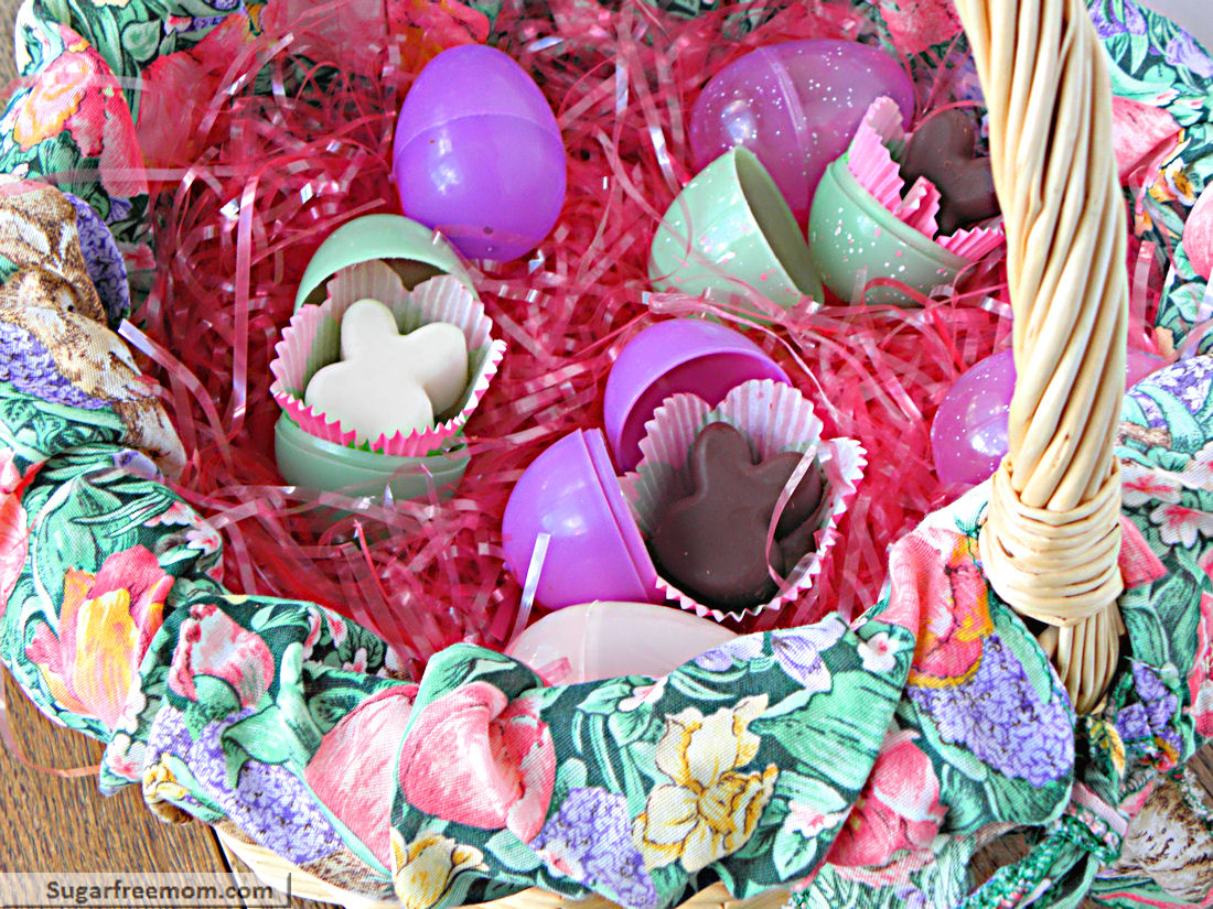 No bake coconut butter easter bunnies no sugar added dairy easter negle