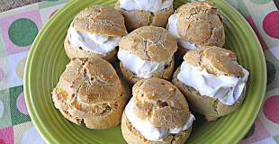 Whole Wheat Sugar-Free Cream Puffs