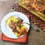 Savory Flourless Baked Cheese Crepes [Gluten Free]