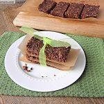 No Bake Cocoa Quinoa Sesame Bars [Gluten, Nut, Dairy & Refined Sugar Free]