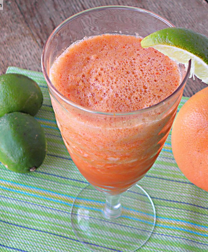 Grapefruit Veggie Lime Juice [No Sugar Added]