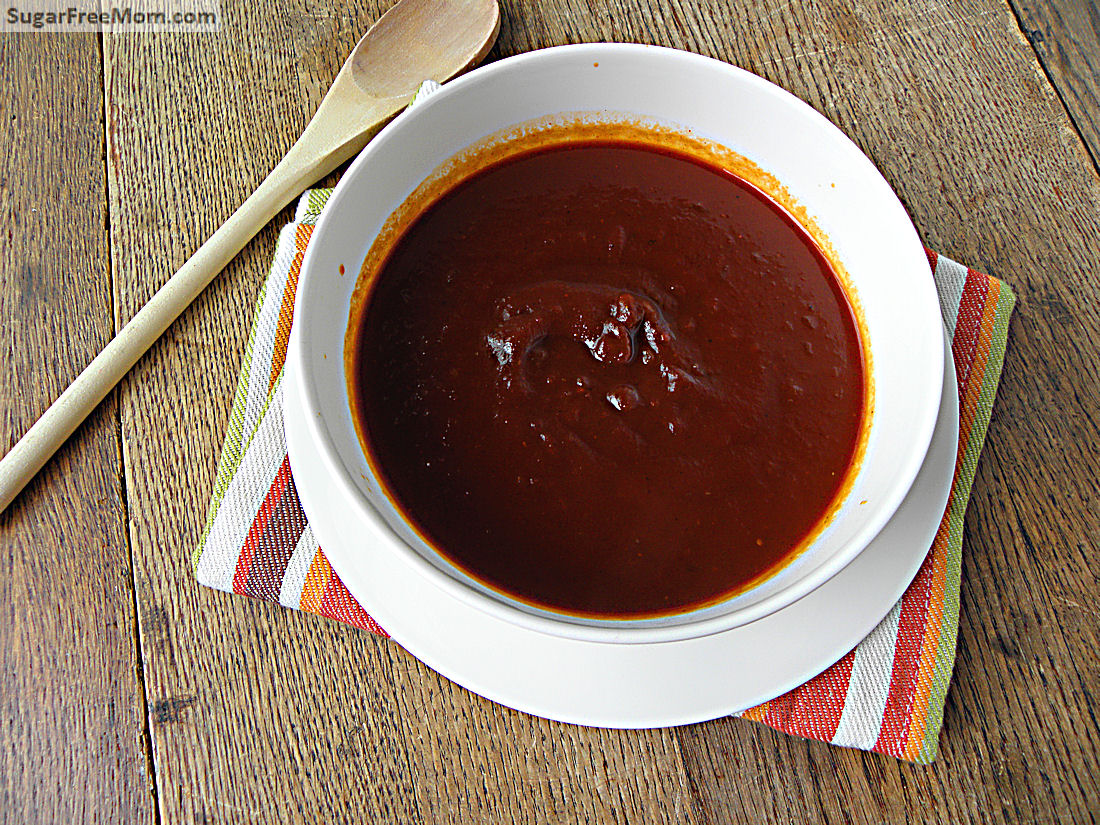 Homemade Barbecue Sauce {Refined Sugar Free}