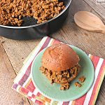 Healthier Sloppy Joes {Refined Sugar Free}