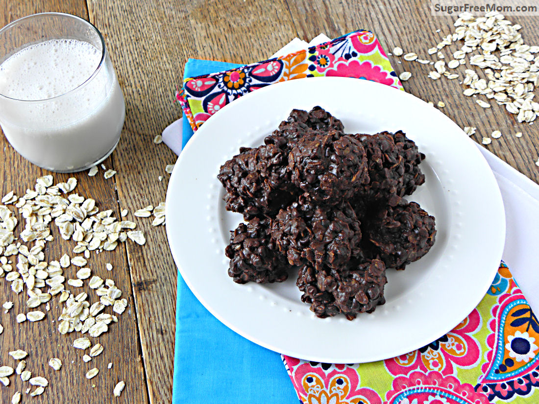... Flourless Chocolate Oatmeal Cookies are dairy, sugar and gluten free