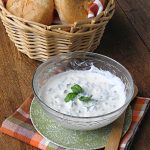 Basil Yogurt Sandwich Spread