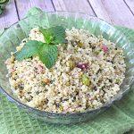 Pistachio Mint Quinoa