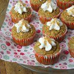 Dairy Free Sugar-Free Coconut Cream Cupcakes