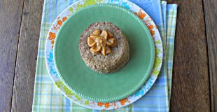 Peanut Butter Flax Single Serving Muffin {Gluten Free, Dairy Free & Low Carb}