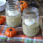 No Bake Overnight Sugar-Free Pumpkin Pie Oats