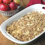 Gluten Free No Sugar Added Apple Crisp