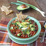 Low Fat Crock Pot Taco Soup