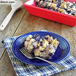 Wild Blueberry Breakfast Strata