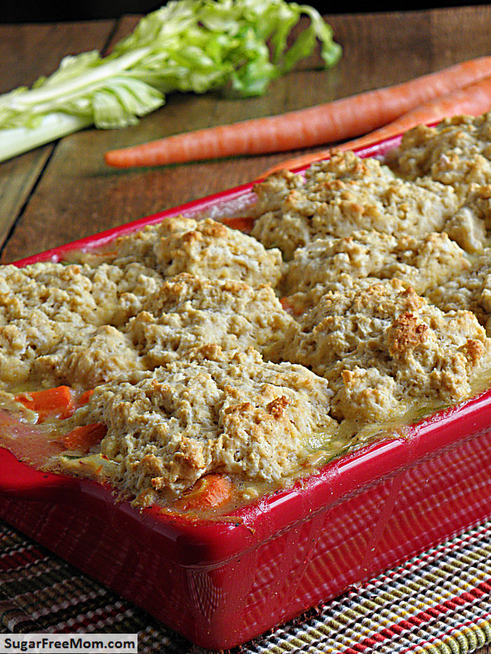 Mom's Fabulous Chicken Pot Pie With Biscuit Crust Recipes — Dishmaps