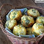 Cheddar Broccoli Cornbread Muffins