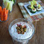 Spicy Mediterranean Feta Dip {Low Carb & Gluten Free}