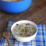 Creamy Potato Bacon Leek Soup